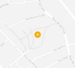 map de la ZAC