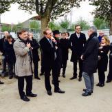 Inauguration du répéteur de Metz le 20 octobre 2015