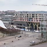 réalisation du centre commercial MUSE - mars 2017